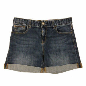 Gap Kids Girls Midi Jean Shorts. Size 14 Regular.